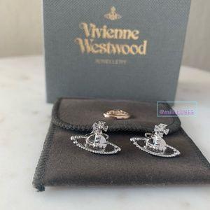 Vivienne Westwood mini silver classic earrings